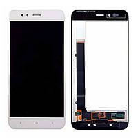 Дисплейный модуль Xiaomi Mi A1 with touch screen white original Китай