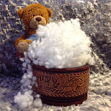 Холлофайбер для іграшок, кульки, 100 р, Україна