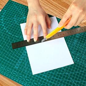 Самовосстанавливающийся монтажный коврик ПВХ для резки бумаги А3