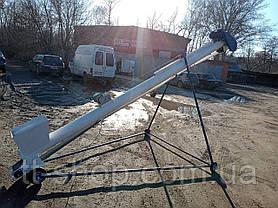 Стрічкові навантажувачі з стрічкою в трубі, діаметр 159 мм, довжина 8 000 мм., фото 2