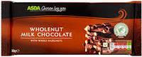 Шоколад Asda Wholenut milk chocolate 200г((Великобритания)