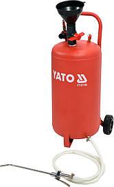 Пневматический маслозаправщик 20л YATO YT-07195