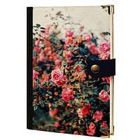 Дневник на кнопке Розовый сад