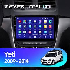 Штатная магнитола  TEYES Skoda Yeti 5L 2009-2014г Android