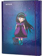 Папка для труда с наполнением для девочки Kite Charming K20-213-01