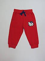 Спортивные штаны/брюки с начёсом для девочек 86р92р