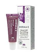 Лифтинг для кожи вокруг глаз с ДМАЭ для упругости кожи, Derma E, 14 г