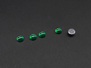 Стрази зелений смарагд 6мм