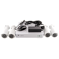 Комплект видеонаблюдения GreenVision GV-IP-K-S31/04 1080P