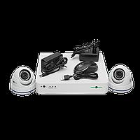БУ Комплект видеонаблюдения GreenVision GV-K-S15/02 1080P