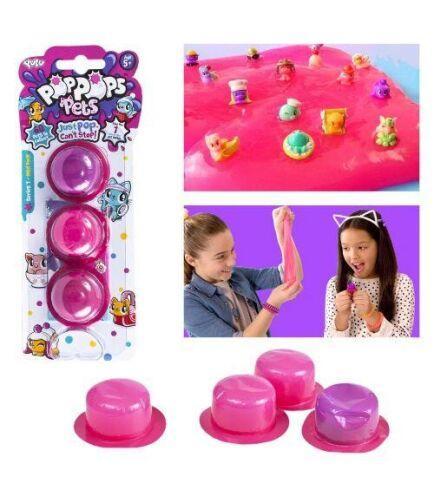 Игровой набор PopPops Snotz, 3 штуки (YL40009)