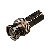 Коннектор для передачи видеосигнала Green Vision GV BNC/M (RG59) twist