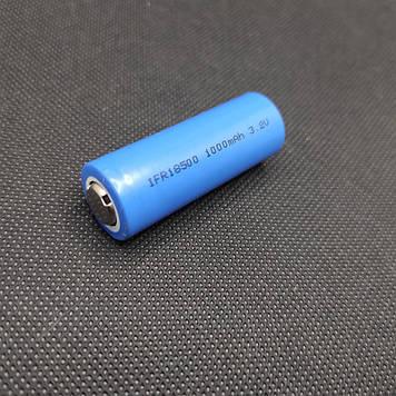 Аккумулятор AWI FR18500 3,2V 1000mAh Li-Fe 3C/10C-разр.
