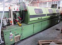Homag KL79/QA/S2 кромкооблицовочный станок бу 1992г. Полная обработка кромки со скоростью до 24 м/мин.