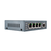 Коммутатор сетевой POE GreenVision GV-003-Е-04+1P