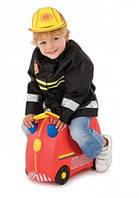 Чемодан детский на колесах Freddie Trunki TRUE060