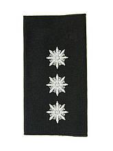 Погон Старший лейтенант поліції (1шт) продевной 10981
