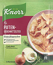 Приправа Knorr Fix Puten-Geschnetzeltes  Нарезанная индейка