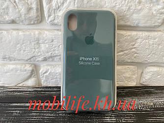 Чехол Silicon Case Original Apple iPhone XR/Light Green/Высокое Качество/