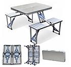 ОПТ Стол Picnic Table Складной алюминиевый стол для пикника со стульями, фото 5