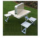 ОПТ Стол Picnic Table Складной алюминиевый стол для пикника со стульями, фото 4
