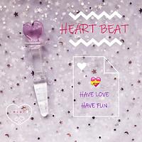 Анальна пробка з кришталевого скла у формі серця
