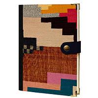 Дневник на кнопке Текстиль