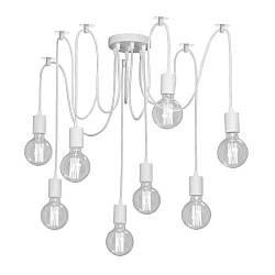 Люстра паук на восемь ламп NL 149-8W белый MSK Electric