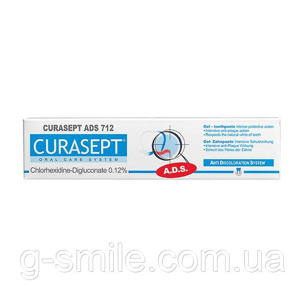 Curasept Oral Care System ADS 712 Зубна паста 75 мл