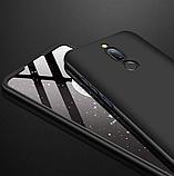 3D Чехол бампер 360° Xiaomi Redmi 8 противоударный + СТЕКЛО В ПОДАРОК. Чохол сяоми редми 8, фото 4