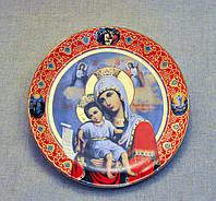 Тарелка сувенирная настенная большая