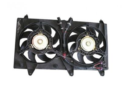 Вентилятор радиатора в сборе Chery Kimo/Jaggi/Beat / Чери Кимо S12/Джагги/Бит S21-1308010