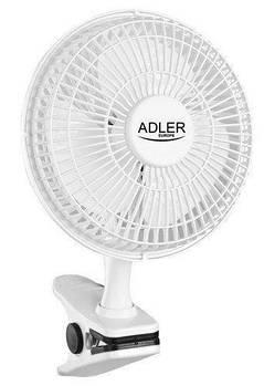 Настольный вентилятор Adler AD 7317, белый