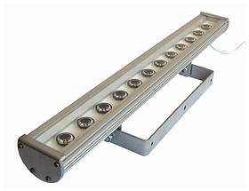Фасадний лінійний прожектор LED 12V-DC 524мм 39W IP65 різні кольори