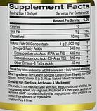 California Gold Nutrition, Омега 800, Рыбий жир фармацевтического класса, 80% EPA / DHA, Триглицеридная форма,, фото 2