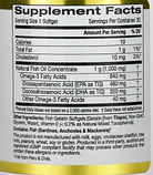 California Gold Nutrition, Омега 800, Риб'ячий жир фармацевтичного класу, 80% EPA / DHA, Триглицеридная форма,, фото 2