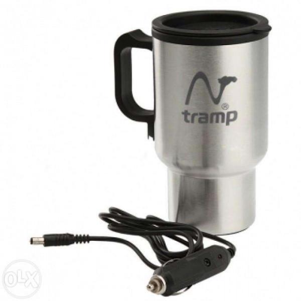 Автокружка Tramp з підігрівом від USB/ автомобільного прикурювача 12В TRC-064