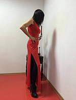 Платье вечернее длинное