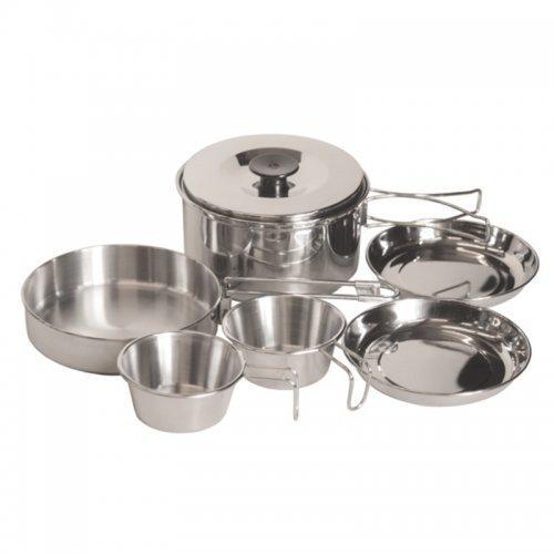 Набір посуду з нержавіючої сталі Tramp TRC-001