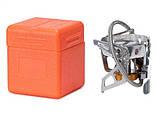 Пальник газовий зі шлангом, п'єзопідпалом і вітрозахистом Tramp TRG-046, фото 3