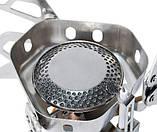 Горелка газовая со шлангом, пьезоподжигом и ветрозащитой Tramp TRG-046, фото 6