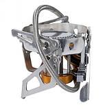 Горелка газовая со шлангом, пьезоподжигом и ветрозащитой Tramp TRG-046, фото 8