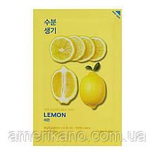 Тканинна маска для обличчя Holika Holika: з екстрактом лимона, рису і маслом ши в асортименті