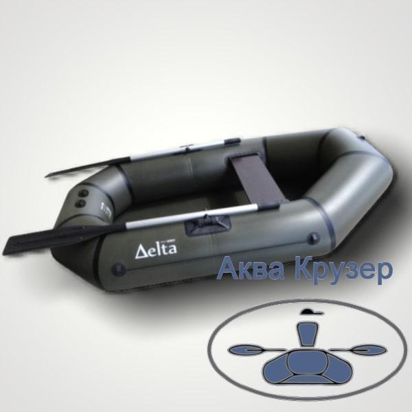 Надувні човни ПВХ Delta (Омега) Ω 210 L легкі, гребні одномісні