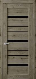 Двері міжкімнатні Німан RV 03 скло чорне