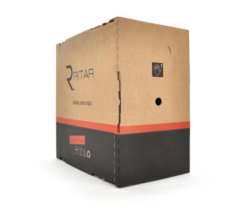 Кабель витая пара Ritar (10559) КПП-ВП UTP, cat.5E, CU, 4х2х0.51 мм, 305м
