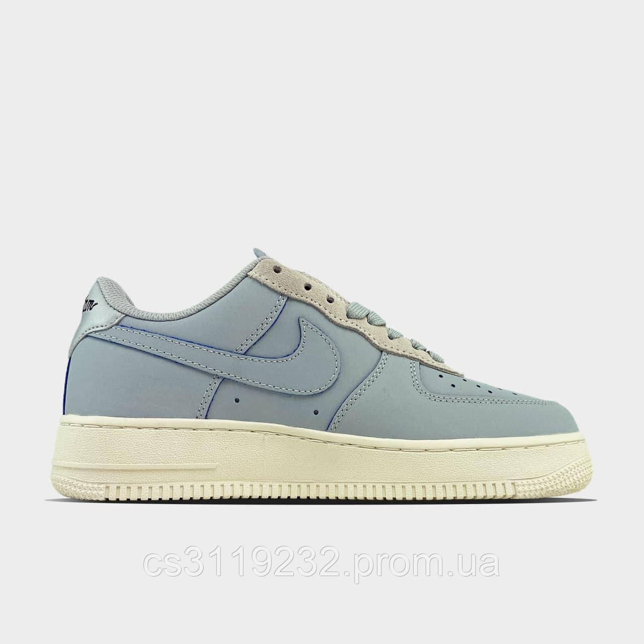 Женские кроссовки Nike Air Force 1 Low Devin Booker  (голубой)