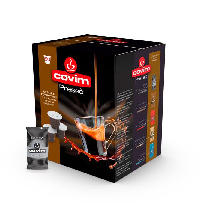 Кофе в капсулах Covim Nespresso Extra 50 шт., Италия