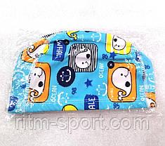 Шапочка для плавания тканевая детская, фото 2