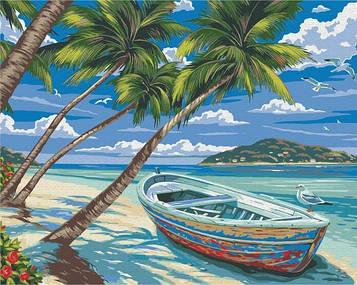 Картины по номерам 40х50 см Brushme Райский остров (BS 21769)